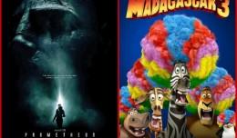 Madagascar Prometheus Posters Split