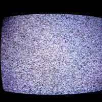 TV static large