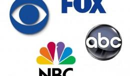 Network Logos ABC CBS NBC FOX