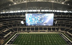 Skedball Giant Screen Cowboys Stadium