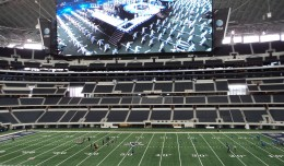 Skedball Giant Screen Cowboys Stadium Hi Res