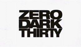 zero dark thirty title