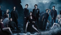 THE VAMPIRE DIARIESSEASON 4 on ITV2Picture shows:  Group© Warner Bros