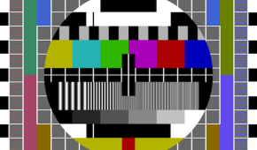 TV test pattern large