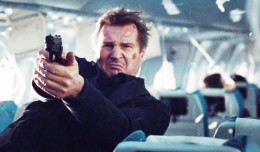 Non-Stop Liam Neeson and big gun