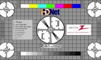 TV test pattern wide