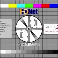 TV test pattern wide