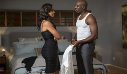 Sanna Lathan and Morris Chestnut in Screen Gems' THE PERFECT GUY.