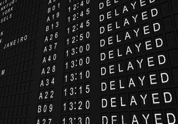 Flight Deparate Board Delay 2