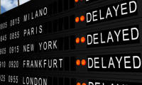 Flight Deparate Board Delay